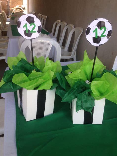 soccer centerpieces 25 best ideas about soccer centerpieces on