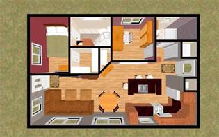 Two Bedroom Tiny House by Small House 2 Bedroom Floor Plans Viewing Gallery