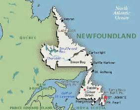 maps newfoundland canada newfoundland map map of newfoundland canada
