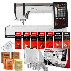 Professional Quilting Machine by Janome Memory Craft Horizon Mc12000 Professional