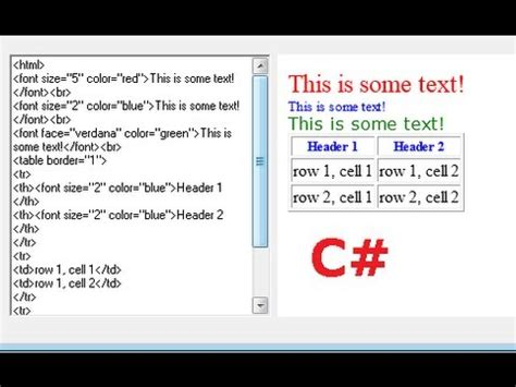tutorial web editor c tutorial 54 how to make a simple html editor youtube