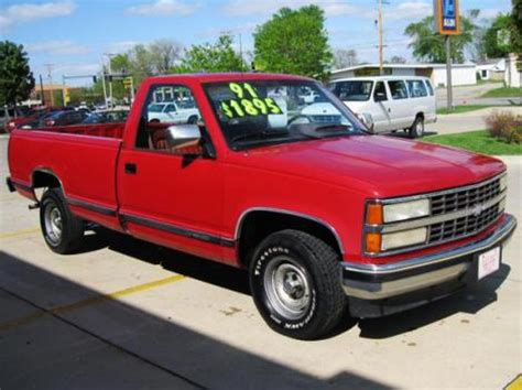 used chevy 1500 truck '91 under $2000 des moines, ia
