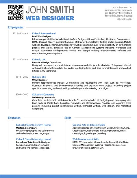 web designer resume template word professional resume templates beautiful and word editable