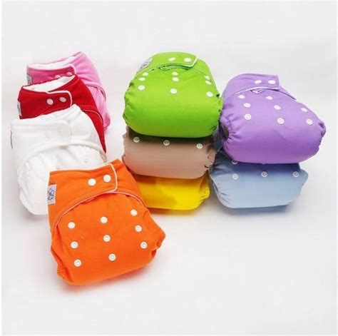 reusable diapers new 10pcs 10 inserts adjustable reusable lot baby washable cloth nappies ebay