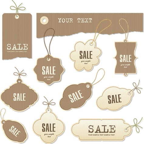 elegant sale labels vector vector graphics blog