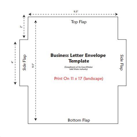 Business Letter Format On Envelope letter envelope template 10 free sles exles