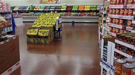 Grocery Store & Supermarket Flooring   Bakery & Deli Epoxy