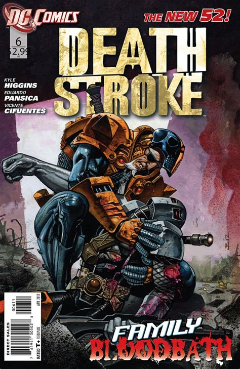 cover a brady hawk novel volume 2 books deathstroke 6 review entertainment fuse