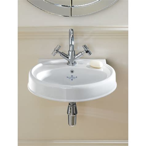 traditional bathroom basin silverdale highgrove traditional 490mm cloakroom basin