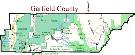 garfield county colorado map birding in garfield county utah