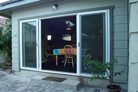 4 Panel Sliding Patio Doors 4 Panel Sliding Glass Door Open Yelp