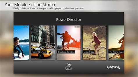 movie editor android powerdirector video editor apk free media video