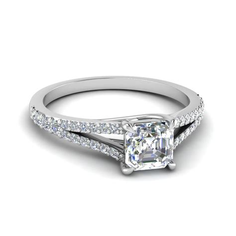 Diamonds On Engagement Band by Engagement Rings Buy Customized Engagement Rings