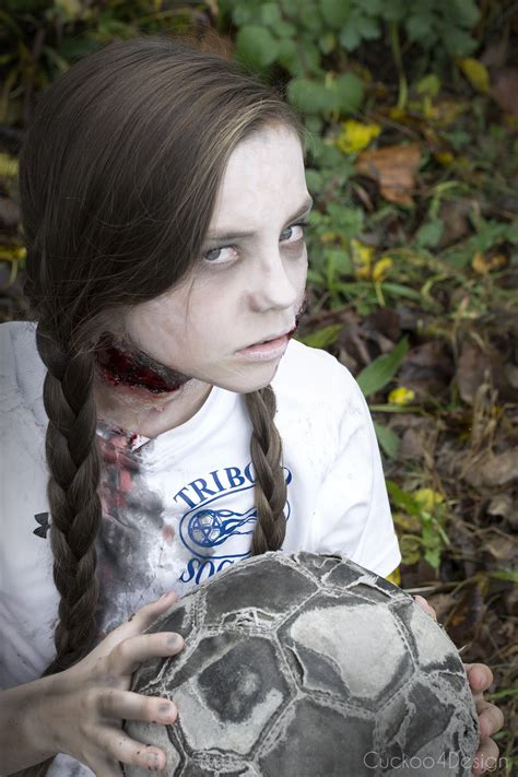 soccer zombie makeup cuckoodesign