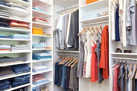 organize wardrobe simple ways to keep your closets organized tips for