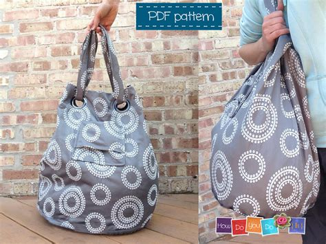 pattern for cloth tote bag pattern oil cloth tote bag leather travel bags