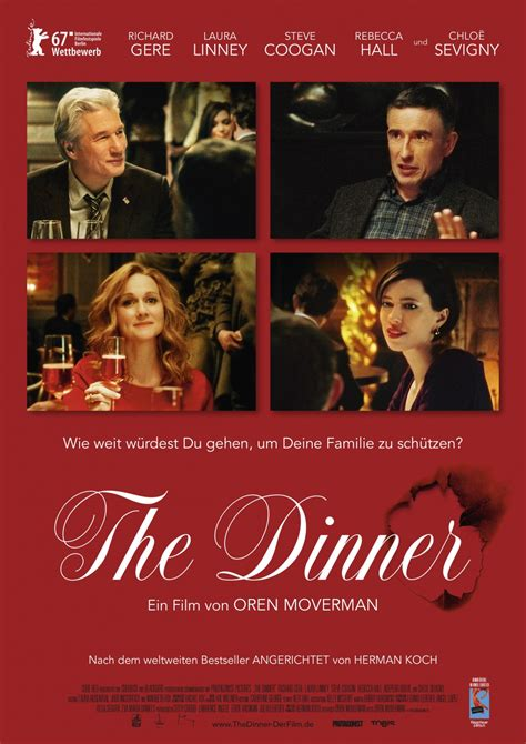 the dinner the dinner 2017 trailer clip images and poster the
