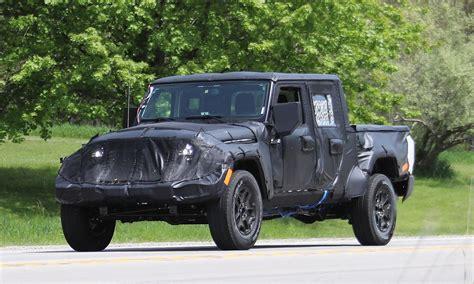 jeep wrangler pickup jeep wrangler pickup spotted