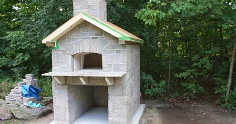 How To Build An Outdoor Fireplace Casual Cottage Outdoor Pizza Oven Casual Cottage