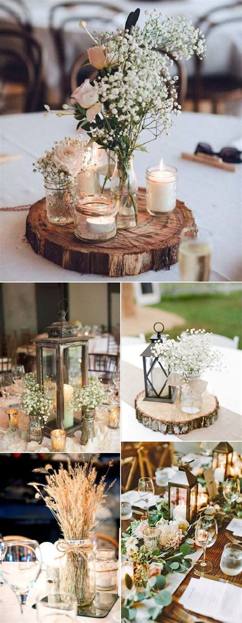 25  best ideas about Rustic wedding centerpieces on