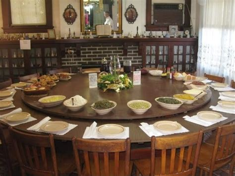 large  dining table seats   dining room
