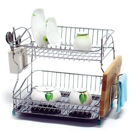 Two Tiered Dish Rack by Shark 2 Tier Dish Rack From Dae Myung I Nex Co Ltd B2b