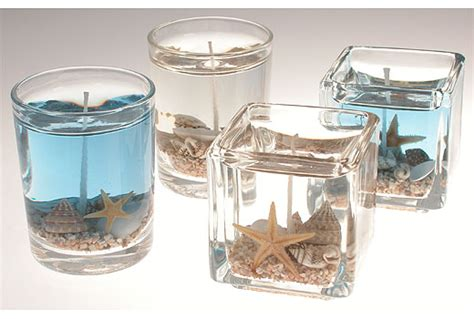 Nautical Decorations For Home by Diy Project Gel Beach Candle Favor Or Decor
