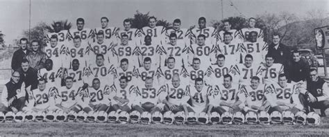 1960 los angeles chargers 1960 afl team photos tales from the afl