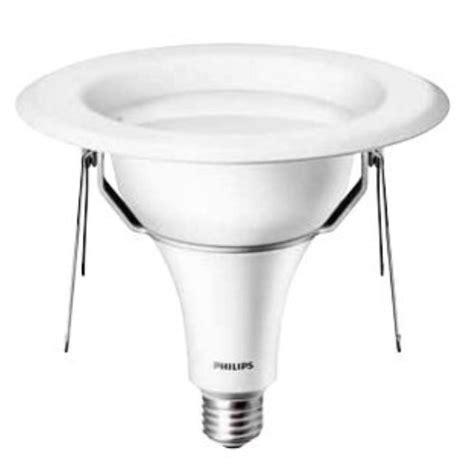 Lu Led Philips 6 Watt philips 6 in pro grade 15 watt 75w soft white 2700k dimmable led recessed downlight e