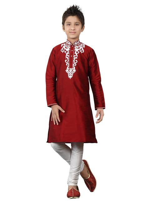 Fh Dress Kid Carista Maroon Kid buy maroon kurta pyjama boys kurta pyjama shopping kdmrg229
