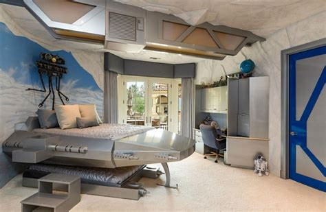 star wars themed bedroom this splendid star wars themed room will cost you whopping