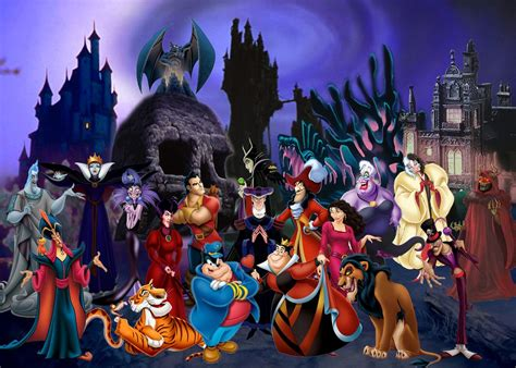 disney wallpaper deviantart only the best baddies by disneyfreak19 on deviantart