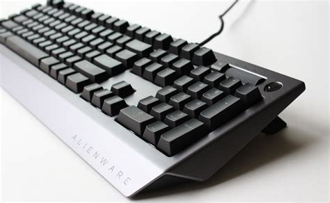 alienware pro gaming keyboard aw768 review rating pcmag