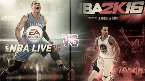 Mba 2k Live by Nba 2k16 Vs Nba Live 16 To Review Thisgengaming
