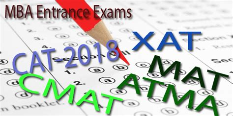 Exams Required For Mba by Mba Admission 2018 2019 Upcoming Entrance Exams