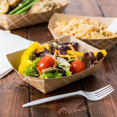 Tray Makanan jual food tray paper atau tray makanan bahan kertas untuk