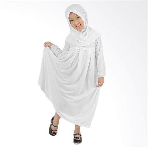 Baju Muslim Anak Perempuan Warna Putih harga baju gamis anak putih murah dokuprice