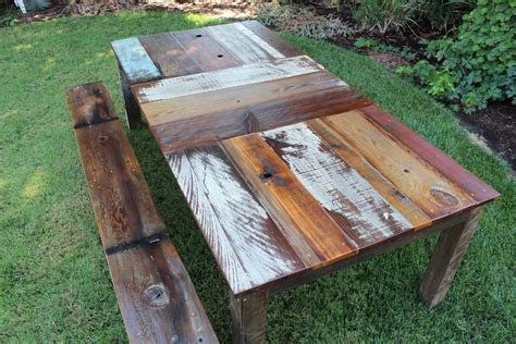 Handmade Reclaimed Furniture - handmade reclaimed wood furniture best decor things