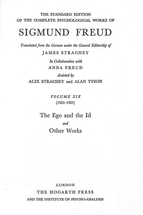 the standard edition of the complete psychological works of sigmund freud vol 4 the interpretation of dreams part classic reprint books the standard edition of the complete psychological works