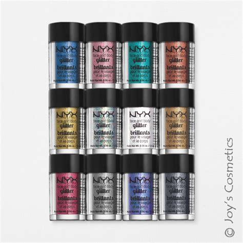 Nyx Glitter 3 nyx glitter powder pigment quot your 3