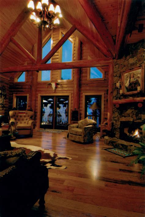 Beautiful Log Home Interiors Beautiful Log Cabin Interior Design 9 Log Cabin Home Interior Designs Smalltowndjs