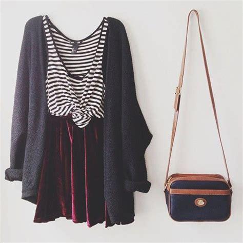 Overall Maxi Skirt Velvet Series 8099 Skirt Shirt Stripes Top Velvet Velvet Cardigan