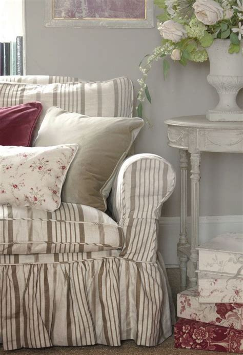 country style slipcovers shabby elegant beautiful my style pinterest
