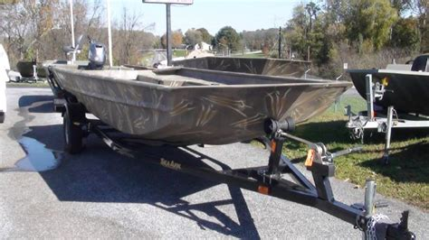duck hunting boats for sale in pa 2019 seaark 1860dks duck boat middletown pennsylvania