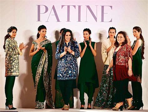 Randhawa Wardrobe by Patine Says It With Flowers In Autumn Winter 2016 Designer
