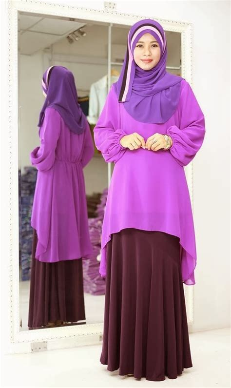 Black Blouse Pusat Top Blouse Hijaber Kekinian Murah muslimah tops malaysia hairstylegalleries