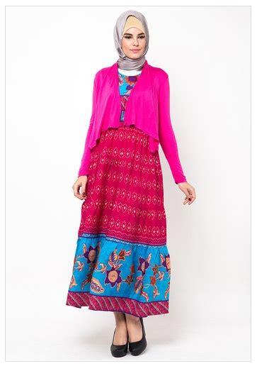 Batik Muslim 2016 Koleksi Busana Muslim Gamis Batik Terbaru Fashion Style
