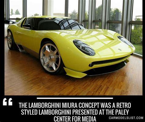 Lamborghini All Cars List by All Lamborghini Models List Of Lamborghini Car