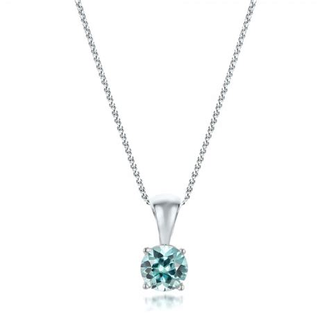 blue zircon pendant 100965 bellevue seattle joseph