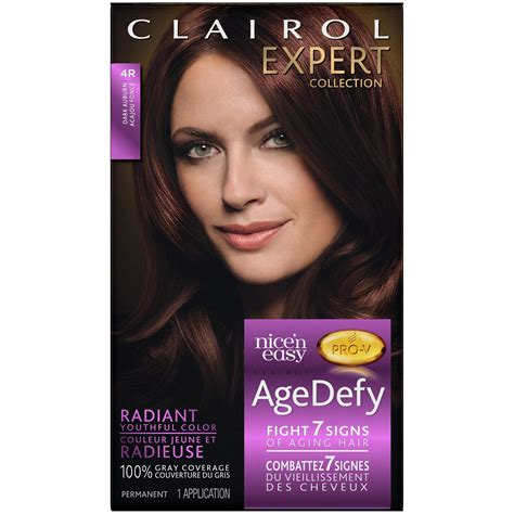 age defy hair color clairol expert n easy age defy permanent hair color